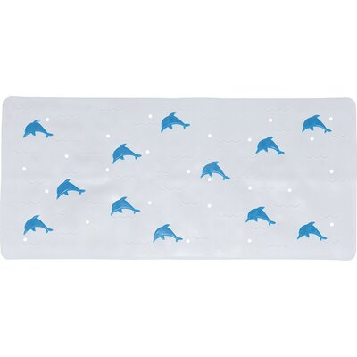Blair Anti Slip Bath Rug Color: Blue