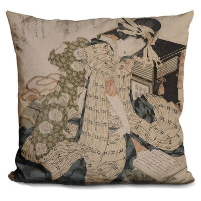 Courtesan Asleep Throw Pillow