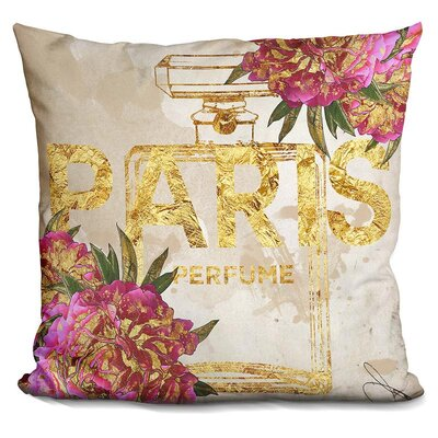 Isaiah Paris Perfume Throw Pillow