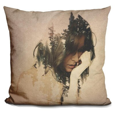 Lostin Thought Throw Pillow