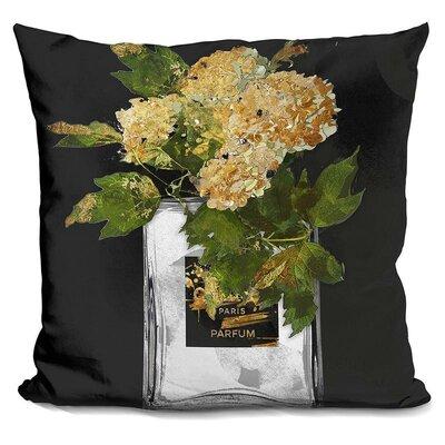 Melia Perfume Vase Throw Pillow