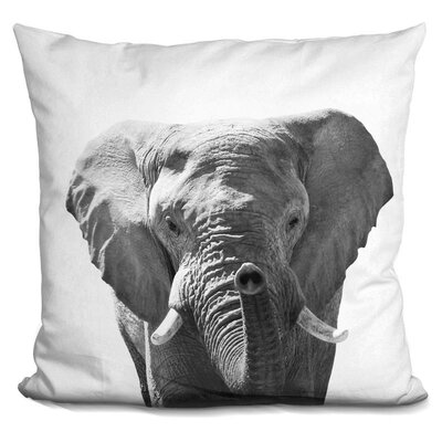 Hogle Elephant Throw Pillow