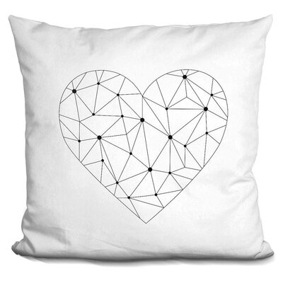 Kephart Heart Throw Pillow