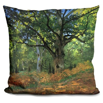 The Bodmer Oak Fontainebleau F Throw Pillow