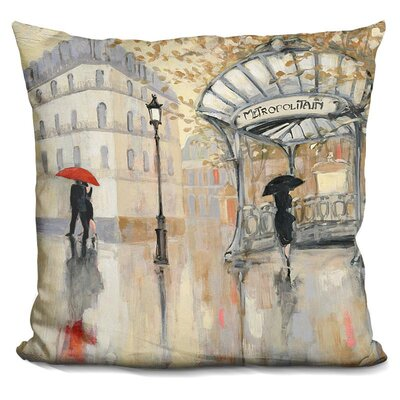 Gettys To The Metro Throw Pillow