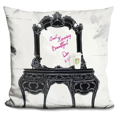 Jamaica Avenue Good Morning Beautiful Throw Pillow
