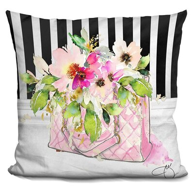 Candelaria Tote Throw Pillow