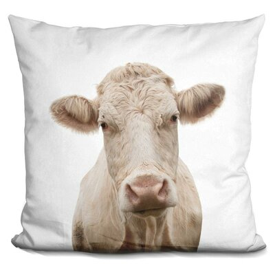 Hattaway Cow Throw Pillow