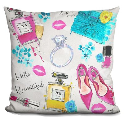 Myrtie on My Mind Throw Pillow