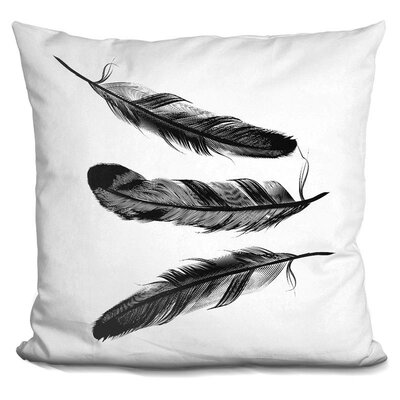 Ching Feather Throw Pillow