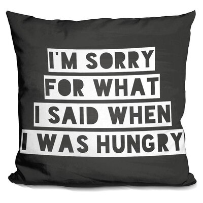 Hashimoto Hungry Throw Pillow