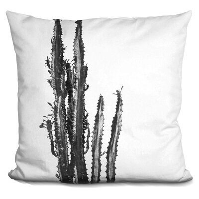 Skelton Plants Throw Pillow