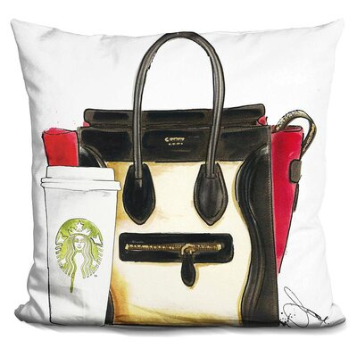 Terri My New Bag Throw Pillow