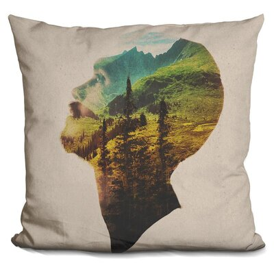Out of Mind Throw Pillow