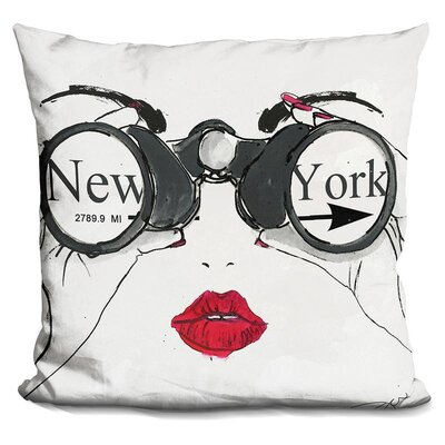 Jambi I See Nyc Throw Pillow