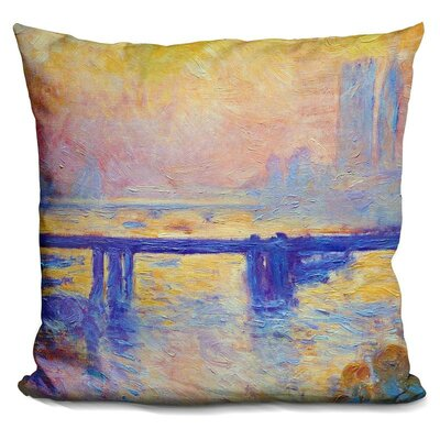 Marksbury Charing Cross Bridge Throw Pillow