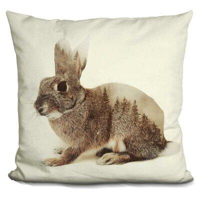 Oliveri Rabbit Throw Pillow