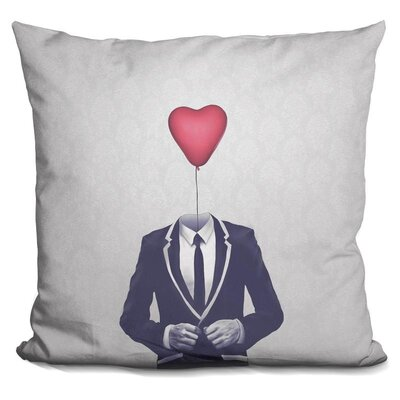 Mr Valentine Throw Pillow