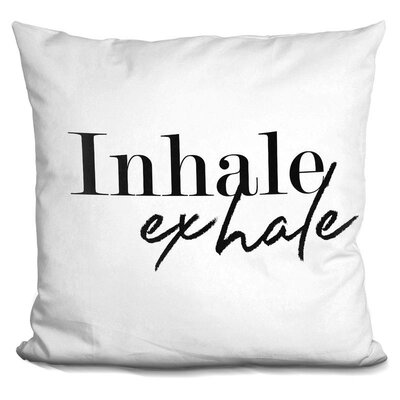 Thorp Inhale Exhale Throw Pillow