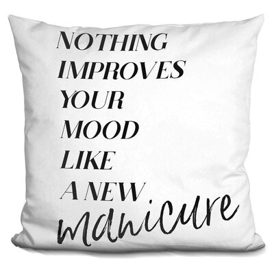 Ingham Manicure Throw Pillow
