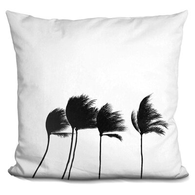 Kerberos Palms Throw Pillow