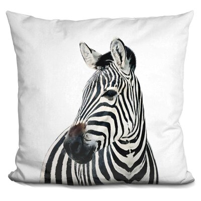 Eckles Zebra Throw Pillow