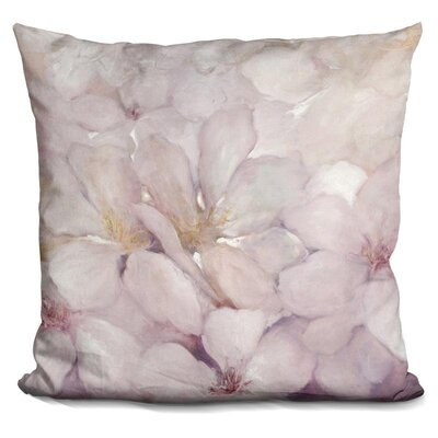 Jourdan Apple Blossoms Throw Pillow