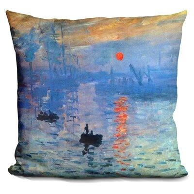 Sunrise Impression Throw Pillow