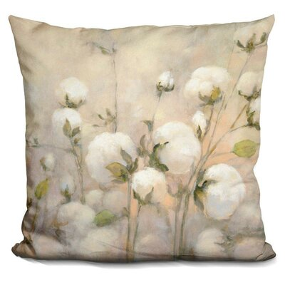 Jowers Cotton Field Throw Pillow