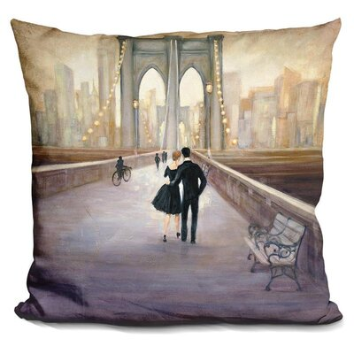 Gholson Bridge To Ny Throw Pillow