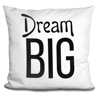 Harvin Dream Big Throw Pillow