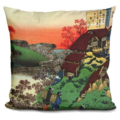 Women Returning Home Throw Pillow
