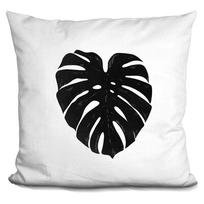 Cangelosi Monstera Throw Pillow