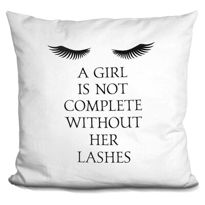 Axbridge Lashes Throw Pillow
