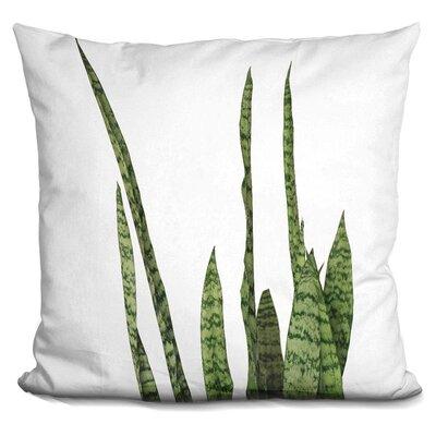 Skillern Plants Throw Pillow