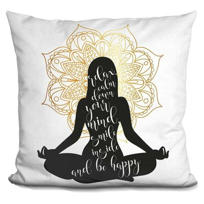Eckart Yoga Throw Pillow