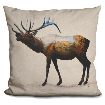 Olague Elk Throw Pillow