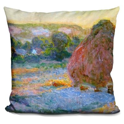Wheatstacks End of Summer Throw Pillow