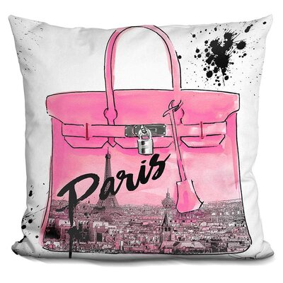 Isaiah Paris Throw Pillow