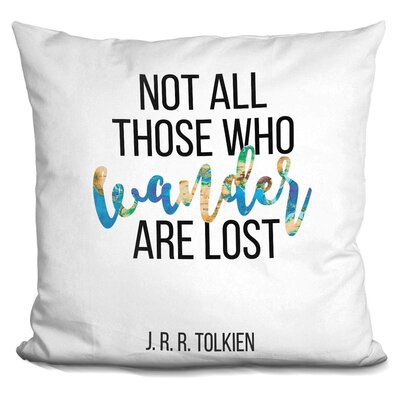 Harvill Tolkien Throw Pillow