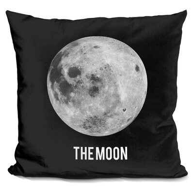 Kepler Moon Throw Pillow