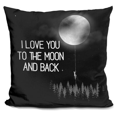 Bucci I Love Throw Pillow