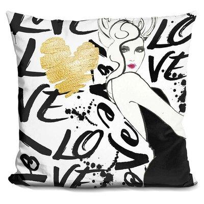 Halina Love The One Throw Pillow