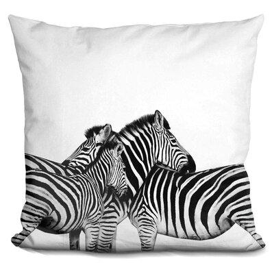 Eckles Zebras Throw Pillow