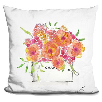 James in Bloom Throw Pillow