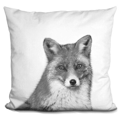 Holderman Fox Throw Pillow