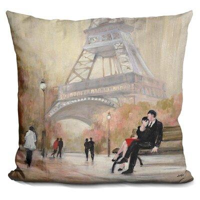 Gerth Romantic Paris Throw Pillow