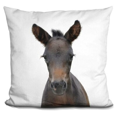 Heriberto Foal Throw Pillow