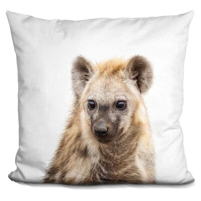 Hyena Throw Pillow