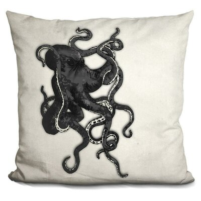 Bucher Octopus Throw Pillow